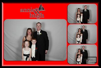Annie and Hugh Photobooth Overlay