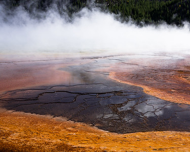 Grand Prismatic Spring at Midway Geyser Basin