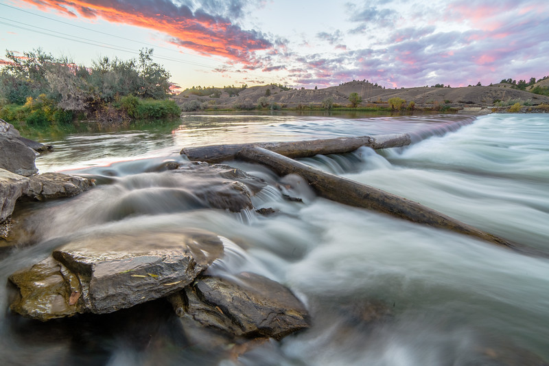 Yellowstone River in Forsyth