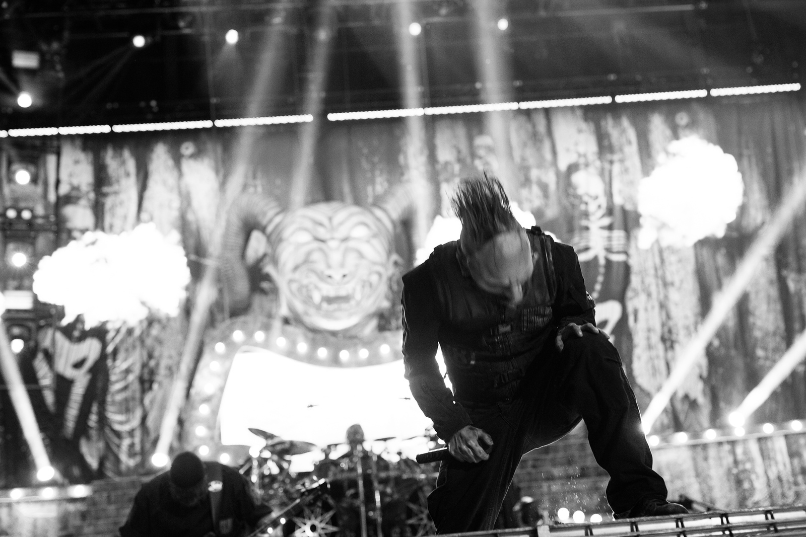 Corey Taylor of Slipknot by Adam Elmakias at Knotfest