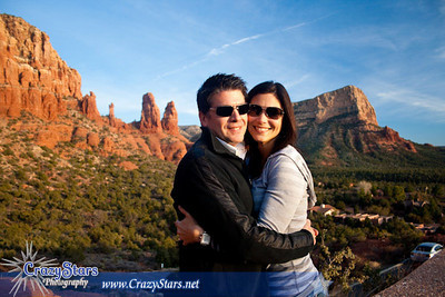 Nadia & Jimmy in Sedona