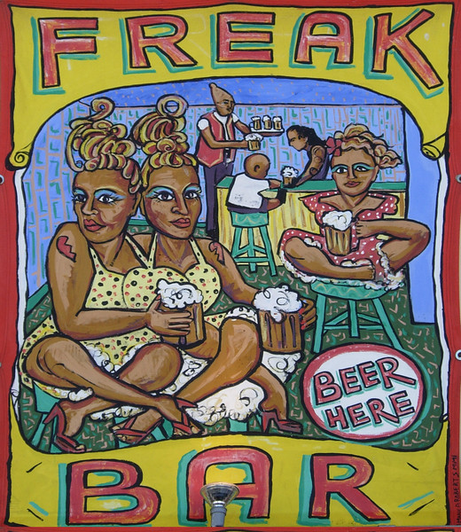 Coney Island freak bar