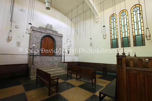 MOROCCO, Casablanca. Ettedgui Synagogue (aka Tifereth Israel) (3.2015)