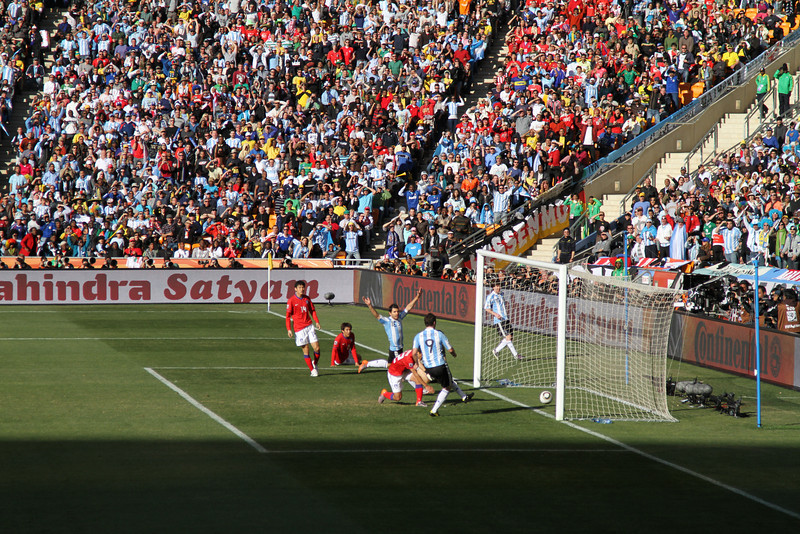 Argentina 4, Korea Republic 1