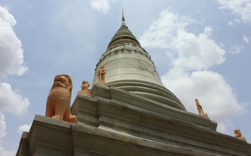 The top of Wat Phnom
