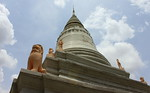 The top of Wat Phnom