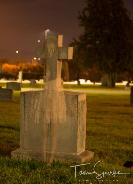 Arlett Lopez Ghost at Midvale Cemetery