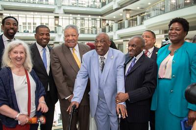 Naming of Atlanta City Council Chamber for Marvin S.  Arrington. Sr.