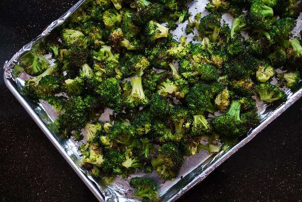 Roasted Broccoli & Chicken