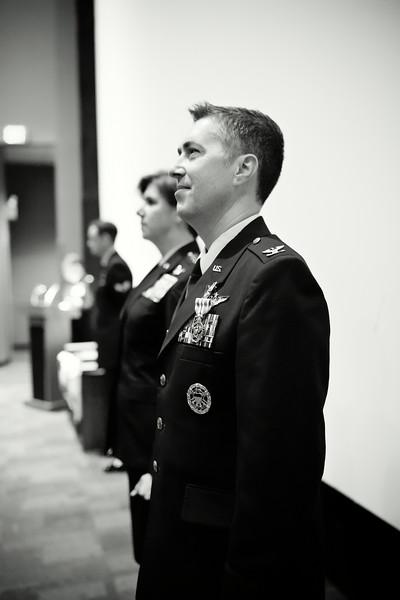 Davis Retirement Ceremony
