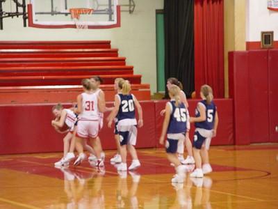 Girls Freshman Basketball  - 2005-2006 - 9/6/2005 vs. Fruitport