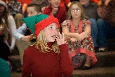 Ally's Christmas Play 2008