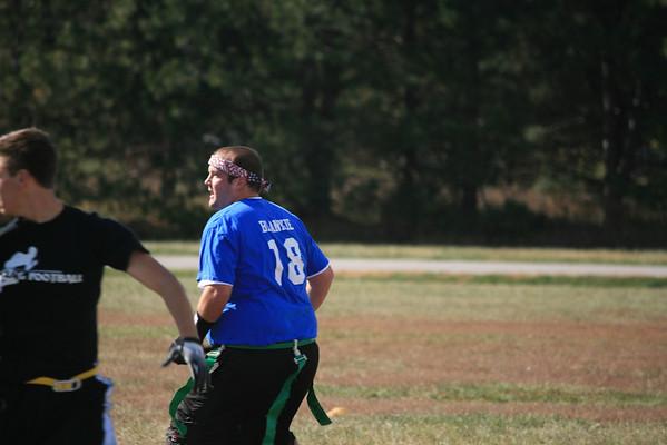 Brian flag football Oct. 30, 2011