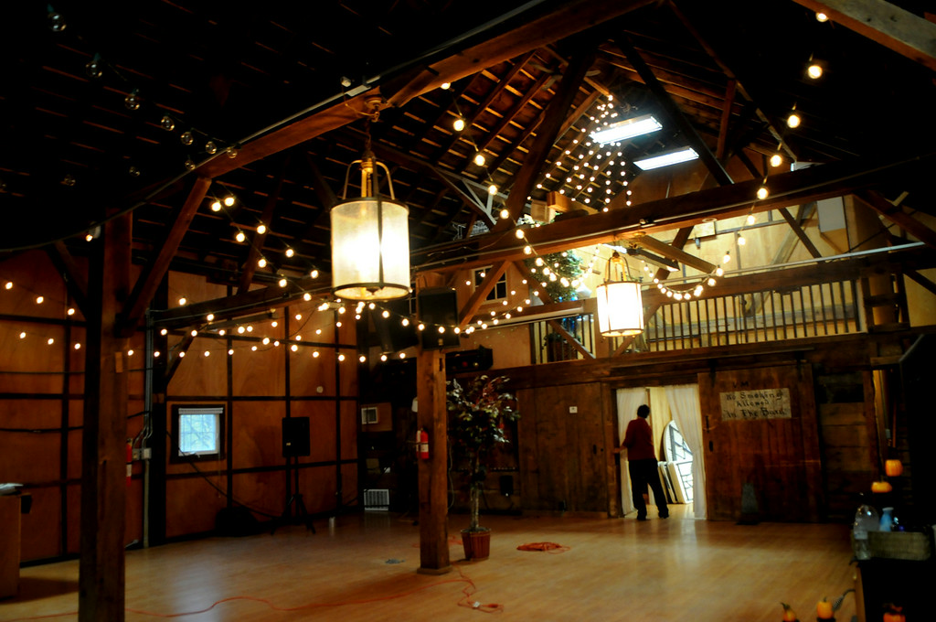 . Michael Bushilla walks through the renovated barn. It was built in 1860  and the couple has been restoring it since 2001.  (Pioneer Press: Jean Pieri)