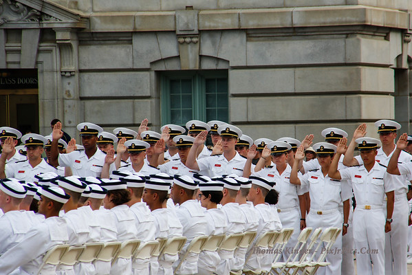 Naval Academy Induction Day 6/27/13