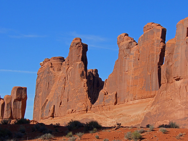 Arches NP and Castle Valley, Utah, 2005