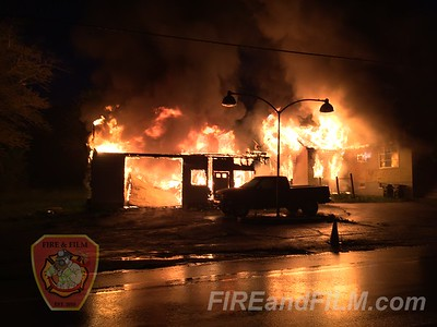 Schuylkill County - East Union Twp. - Building Fire - 05/08/2016