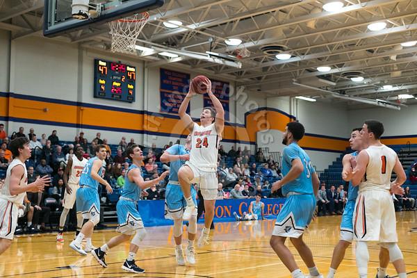 Wheaton College Men's Basketball vs Elmhurst, February 19, 2019