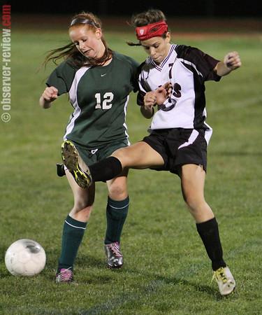 Odessa Girls Soccer 10-9-13