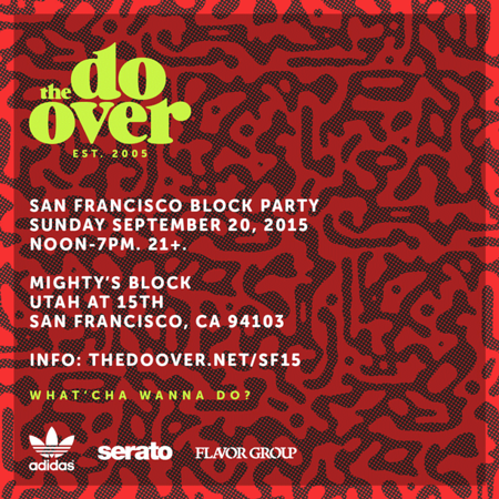 The Do-Over SF Block Party 9.20.15