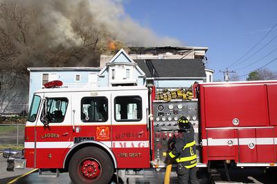 Lowell, MA - 5th Alarm, 23 Willow Street 4-20-12