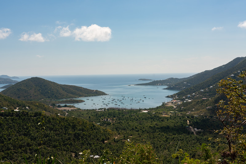 Overlooking Coral Bay from Centerline Rd
