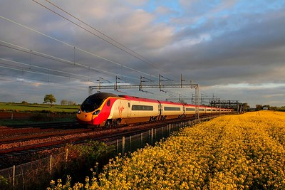 Trent Valley line - Rugby to Stafford WCML