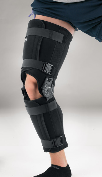 Quick-Fit Post-Op Knee Brace