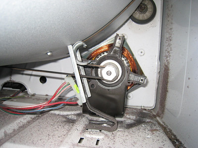 Crappy Idler Slider Pulley on a Whirlpool Dryer
