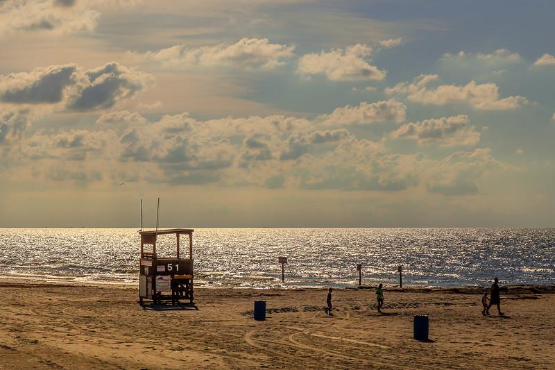 Sunrise at the beach...Galveston, TX