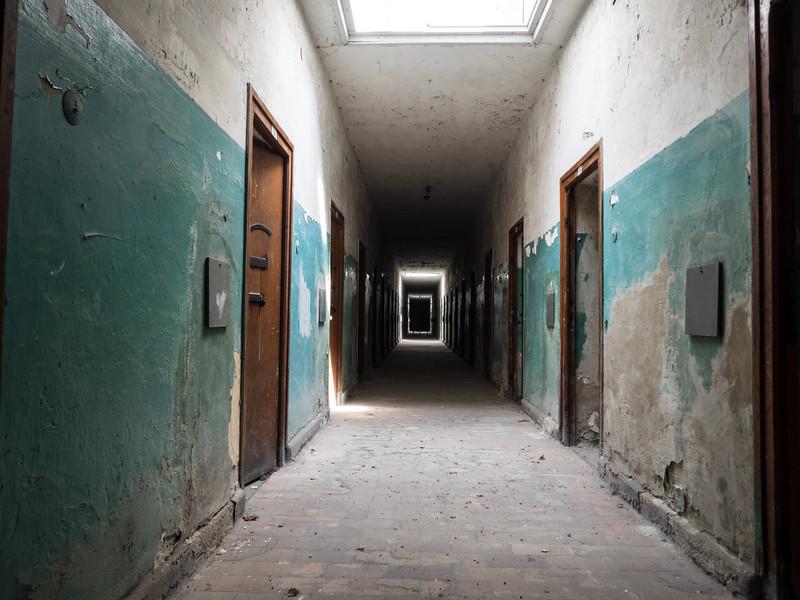 Prison Block, Dachau Concentration Camp