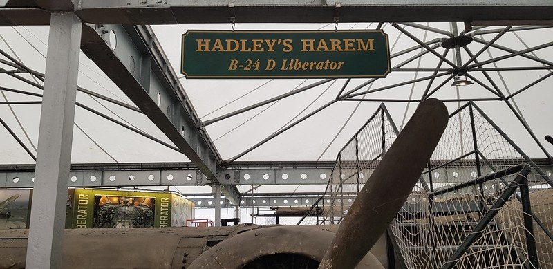 Where Hadley`s aircraft now resides at the wonderful Rahmi M Koc Museum.