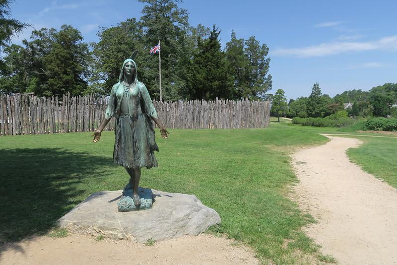 3 -- Pocahontas Statue