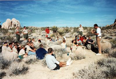 11/5/1994 - Rockclimbing at Joshua Tree National Park