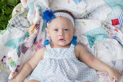 Aubrey (6 month) 7.25.15