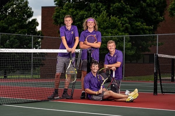 Boys Tennis Team 2020