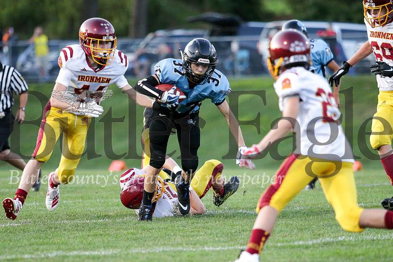 Seneca Valley vs Ironmen U12 Football