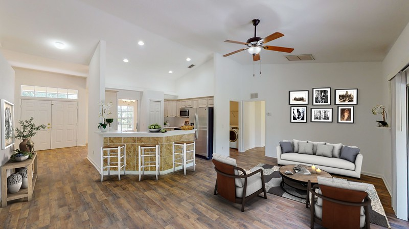 Virtual Staging Before & After Examples