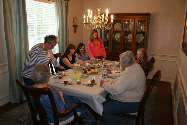 Jones Family Gathering - April 2014