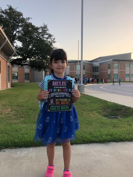 Melis | Kindergarten | Parkside Elementary School