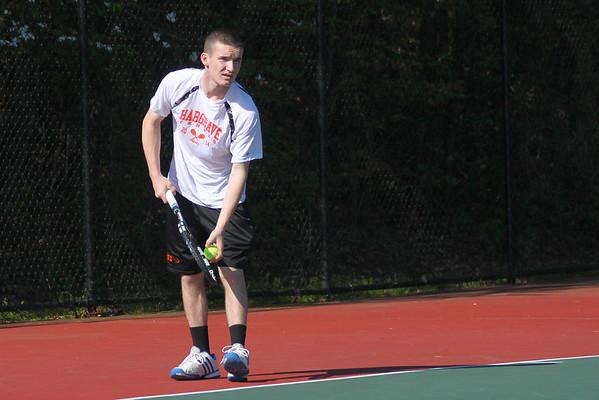 Varsity Tennis at VIC Singles Tournament