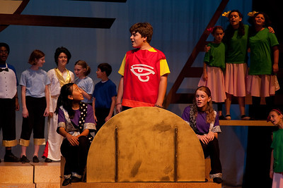 Joseph and the Amazing Technicolor Dreamcoat, summer 2011