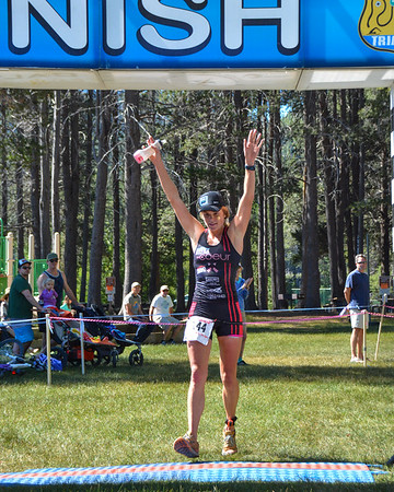Donner Lake Tri Olympic/Half Finish