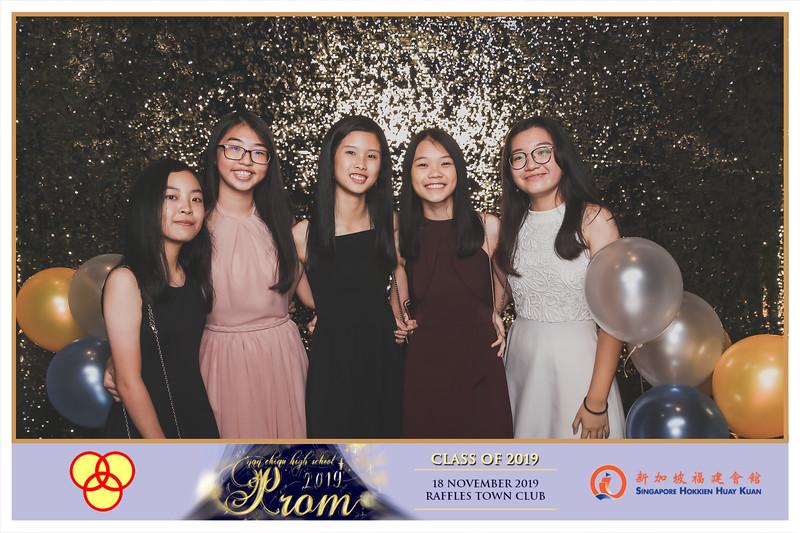 Nan Chiau High School 2019 Prom Night | © www.SRSLYPhotobooth.sg
