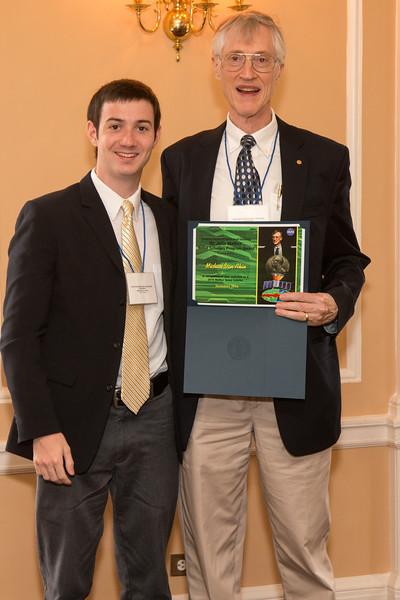 MIchael Van Akin -- 2016 Dr. John Mather Nobel Scholars Program Award  luncheon, held at the Hopkins Club, Johns Hopkins University, Baltimore, MD, July 26, 2016.