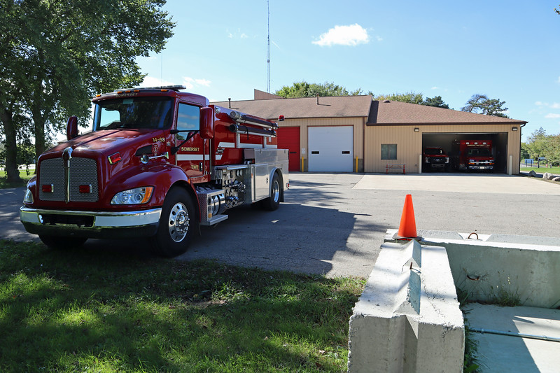 Somerset Township Office and fire truck
