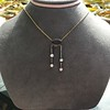 1.80ctw Antique Diamond and Sapphire Negligee Pendant 5