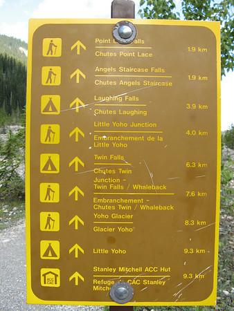 Yoho NP - 20k hike