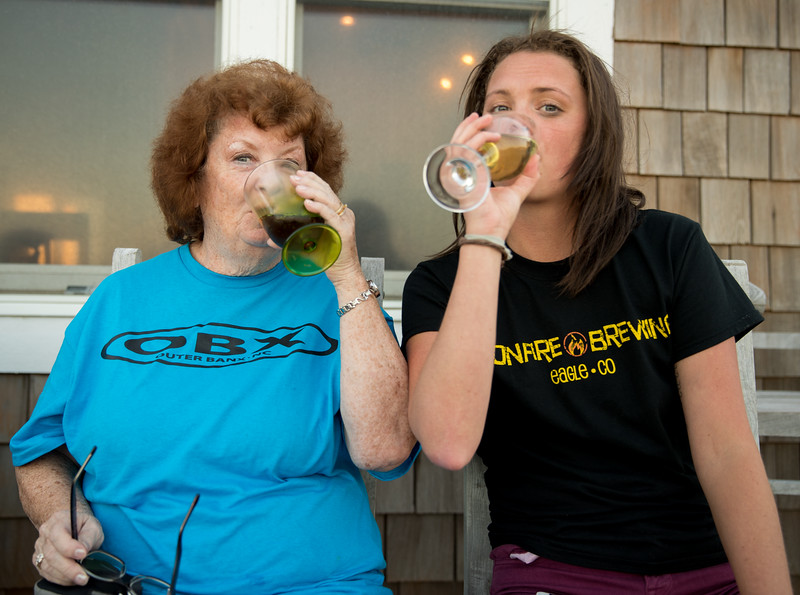 Aly and Mam Drinking.jpg