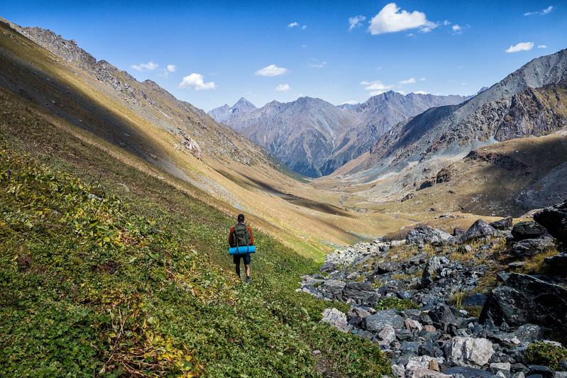 Hiking in Kyrgyzstan Jeti Oguz Valley